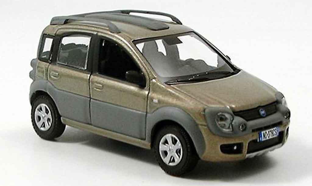 Fiat Panda 1/43 Norev 4x4 SUV beige miniature