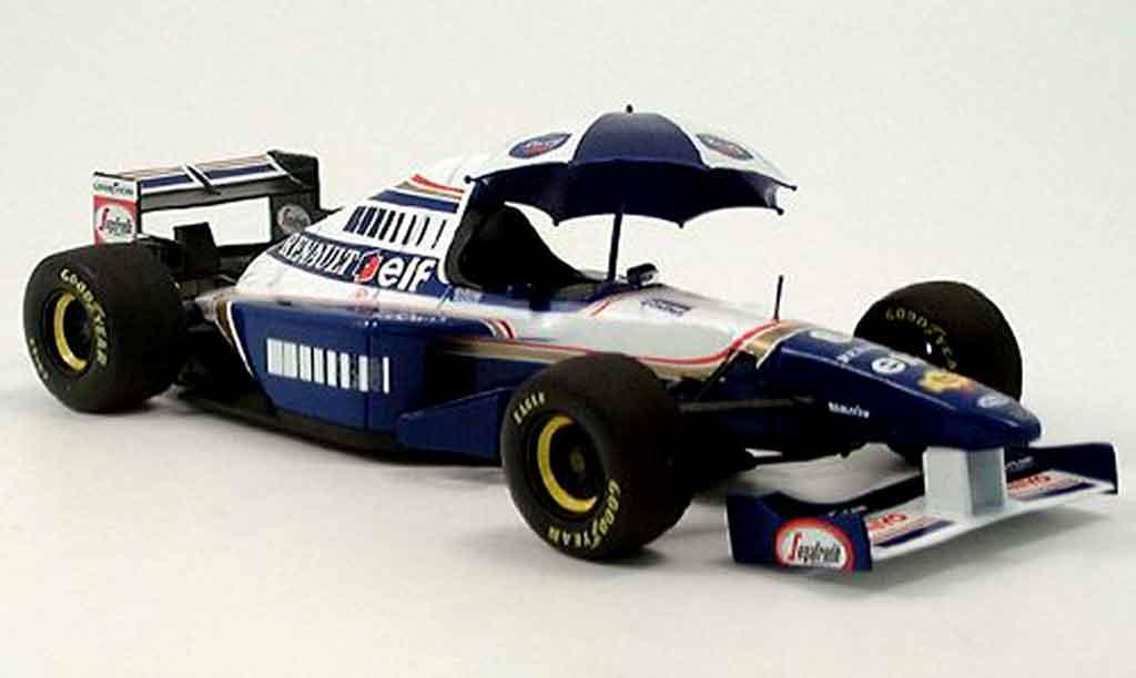 Renault F1 1/18 Quartzo williams fw 17 1995 miniature
