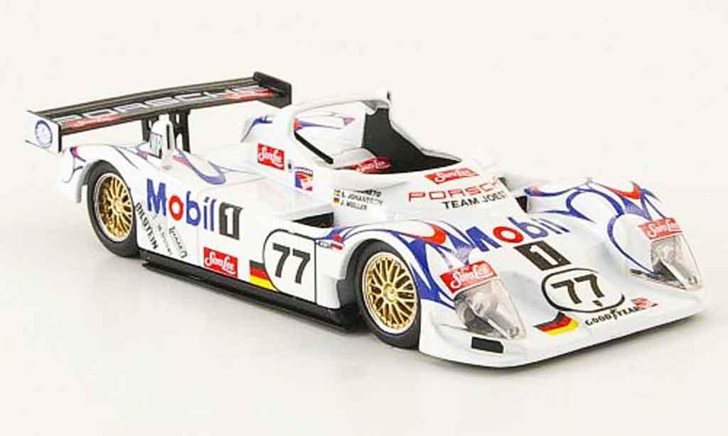 Porsche LMP1 1/43 Trofeu LeMans Alberto Johansson Muller 1998 miniature