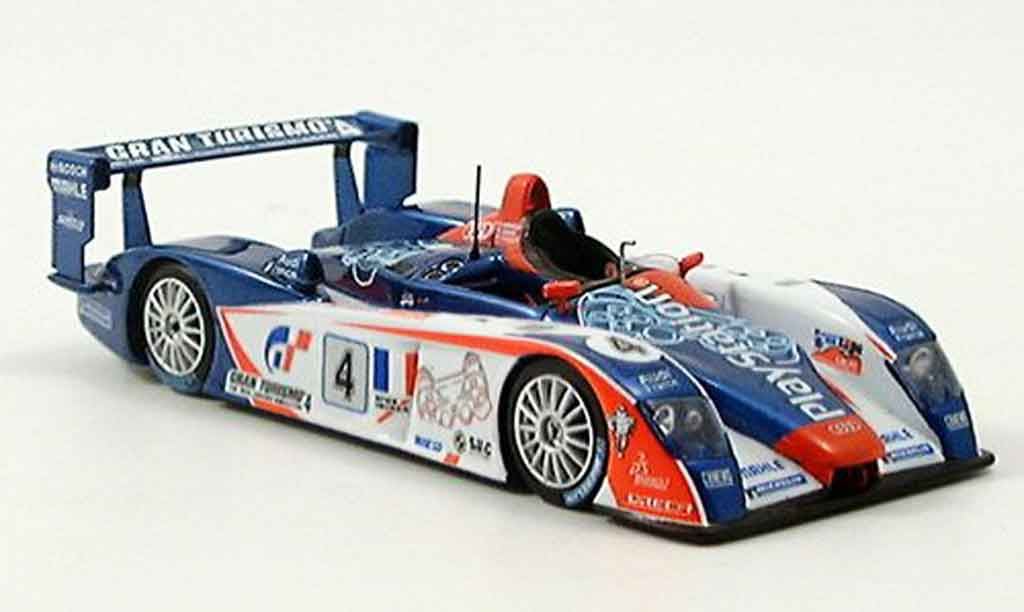 Audi R8 2005 1/43 Spark Team Oreca 4th LeMans miniature