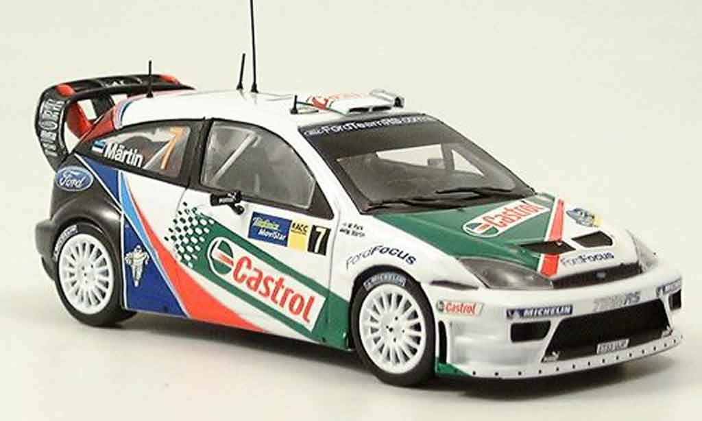 Ford Focus RS WRC 1/43 Minichamps Sieger Catalunya Maertin Park 2004 miniature