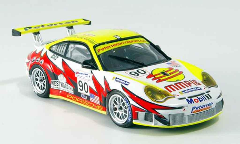 Porsche 996 GT3 RSR 1/43 Minichamps No.90 24h Le Mans 2005 miniature