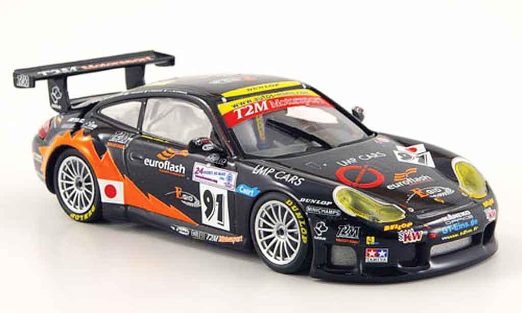 Porsche 996 GT3 RS 1/43 Minichamps LM Yamagishi Pompldou Blanchemain 2005 diecast model cars