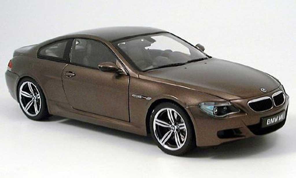 Bmw M6 E63 1/18 Kyosho bronze 2005 miniature