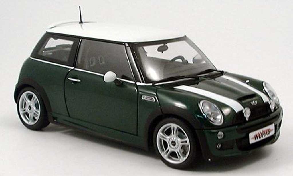 Mini Cooper JCW 1/18 Kyosho new grun modellautos