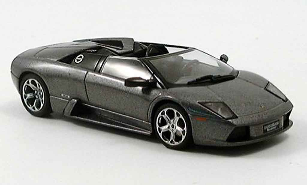 Lamborghini Murcielago Roadster 1/43 Autoart gray 2005 diecast
