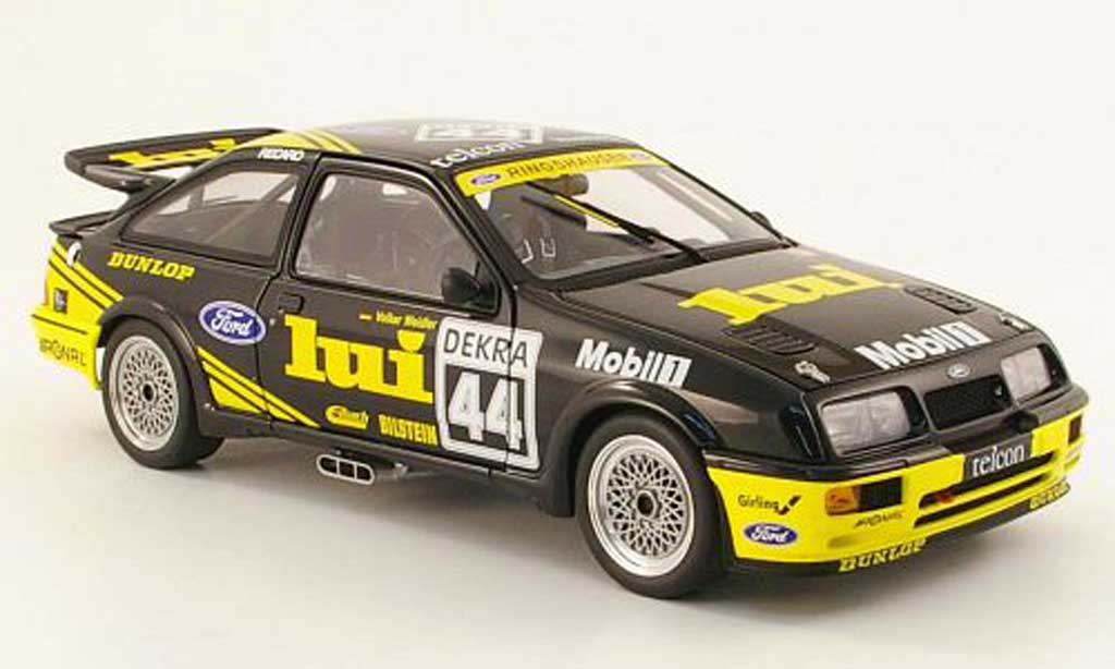 Ford Sierra RS 500 1/18 Autoart cosworth no.44 lui dtm nurburgring 1989 v.weidler miniature