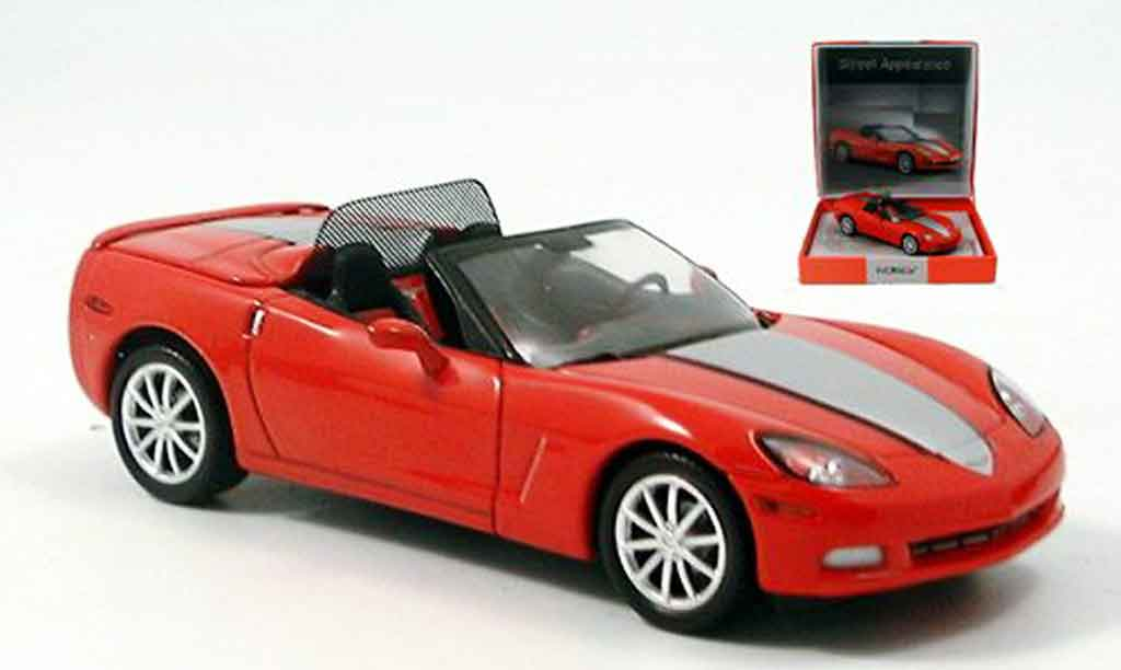 Chevrolet Corvette C6 1/43 Norev street Appearence red 2005 diecast model cars
