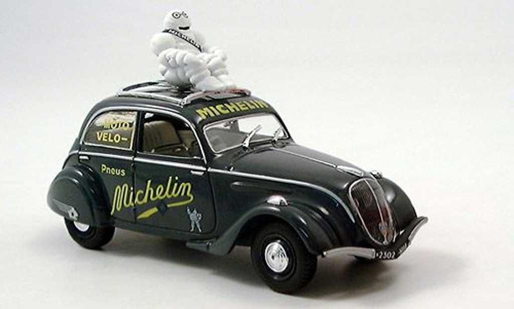 Peugeot 202 1/43 Norev Michelin 1937 miniature