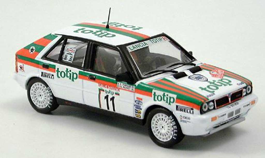 Lancia Delta HF Integrale 1/43 IXO Totip No. 11 1987 miniature
