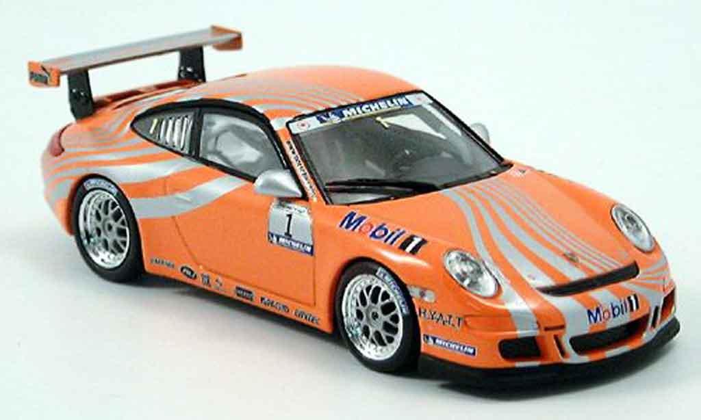 Porsche 997 GT3 CUP 1/43 Minichamps GT3 Cuporange Supercup No. 1 miniature