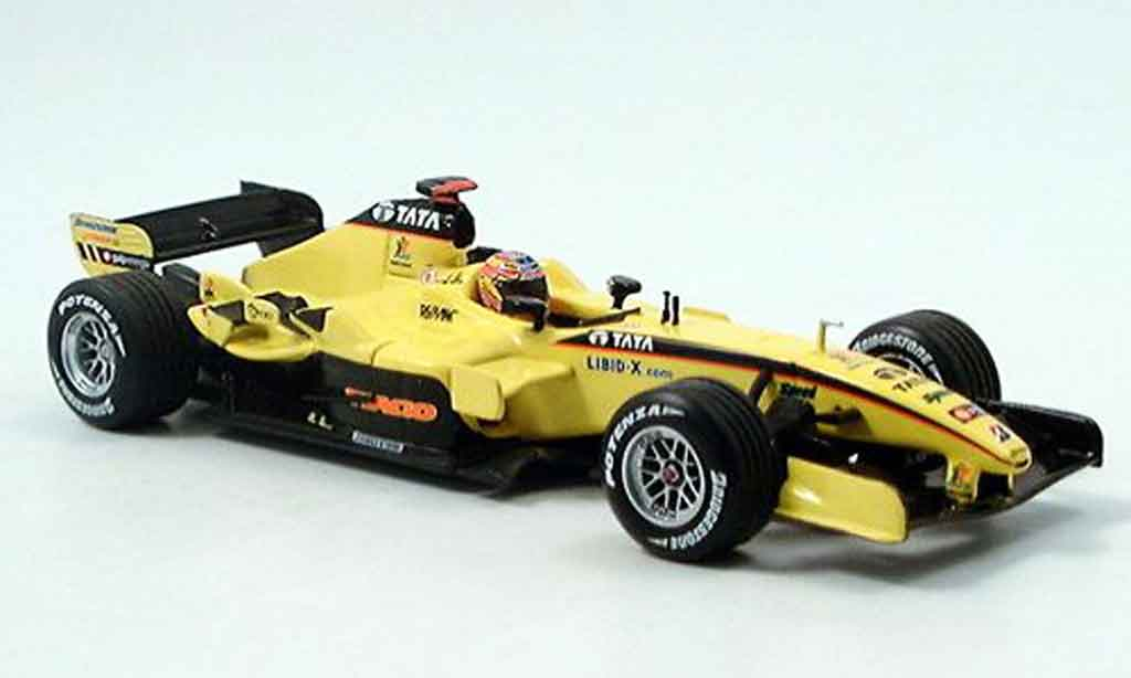 Toyota F1 1/43 Minichamps jordan ej 15 d.monteiro dritter platz g.p. usa 2005 miniature
