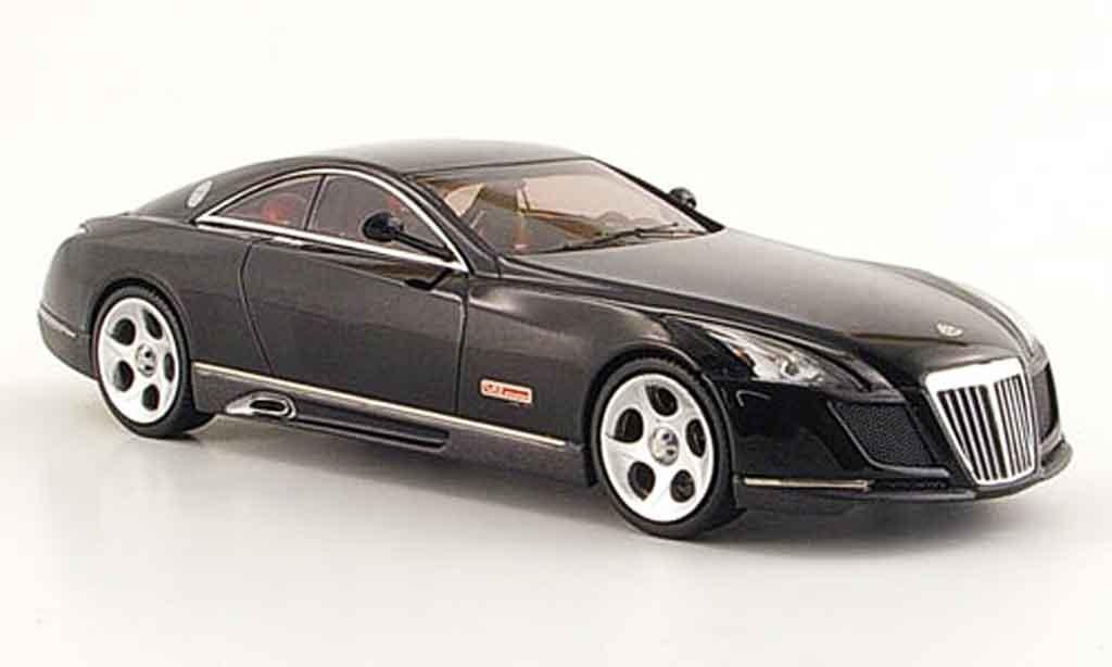Maybach Exelero 1/43 Schuco Concept Car noire 2005 miniature