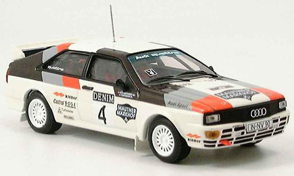 Audi Quattro 1/43 Vitesse No. 4 Sieger Janner Rallye miniature