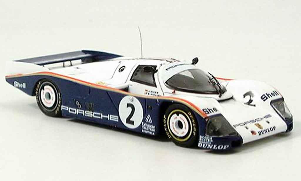 Porsche 962 1986 1/43 Spark No. 2 Le Mans miniature