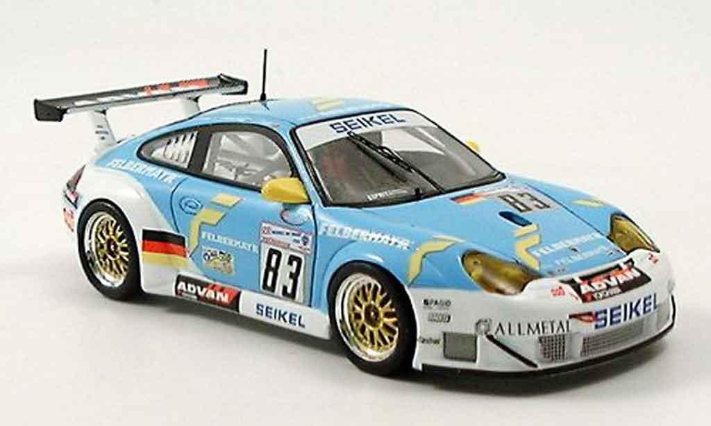 Porsche 996 GT3 RSR 1/43 Spark No. 83 Le Mans 2005 diecast
