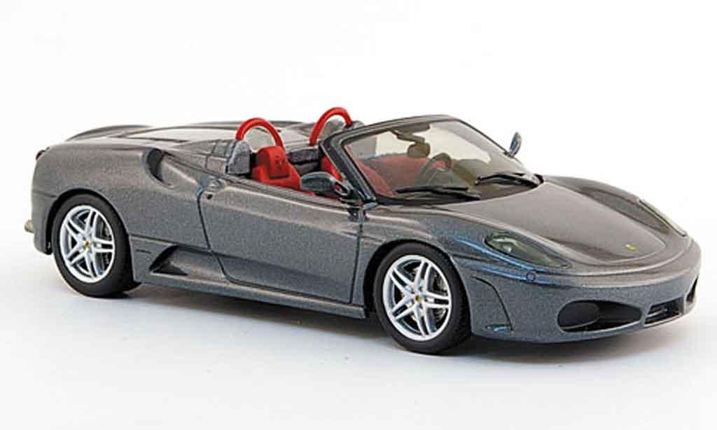 Ferrari F430 Spider 1/43 IXO grigia 2005 miniatura