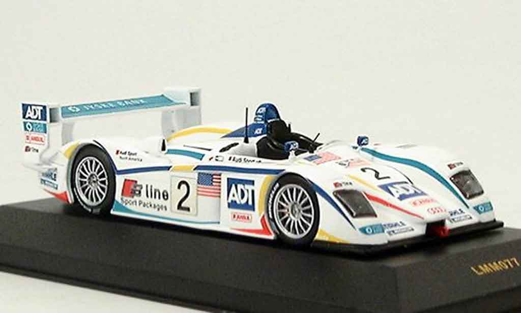 Audi R8 2005 1/43 IXO No. 2 3er Le Mans diecast model cars
