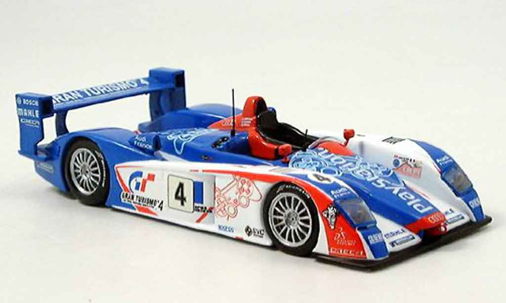 Audi R8 2005 1/43 IXO No.4 4er Le Mans diecast model cars