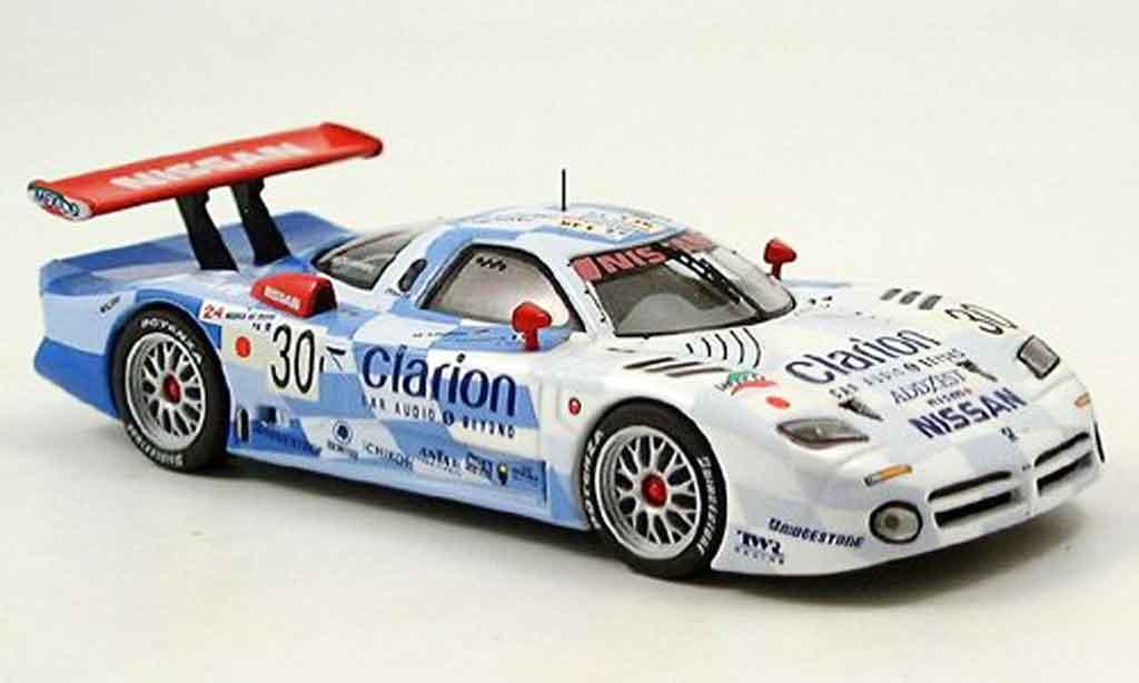 Nissan R390 1/43 IXO GT1 Clarion No. 30 Le Mans 1998 miniature