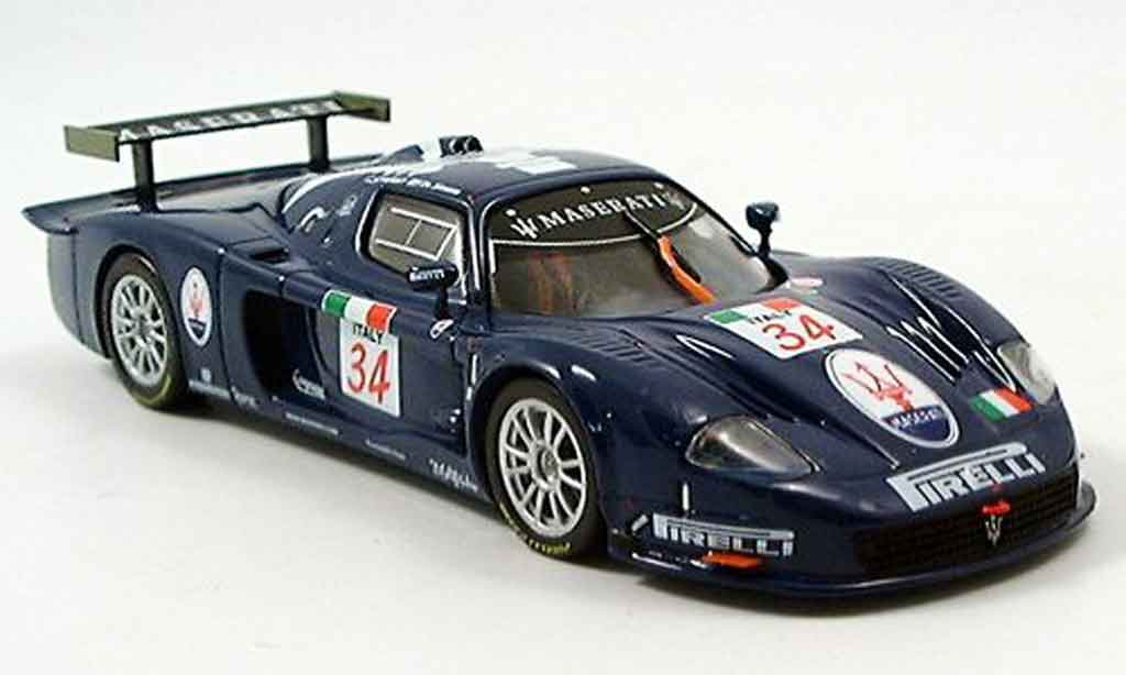Maserati MC12 1/43 IXO no. 34 fia gt imola 2004 diecast model cars
