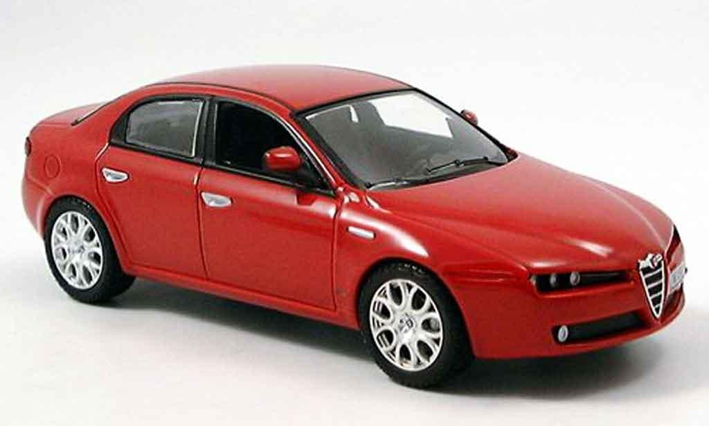 Alfa Romeo 159 1/43 Norev red 2005 diecast