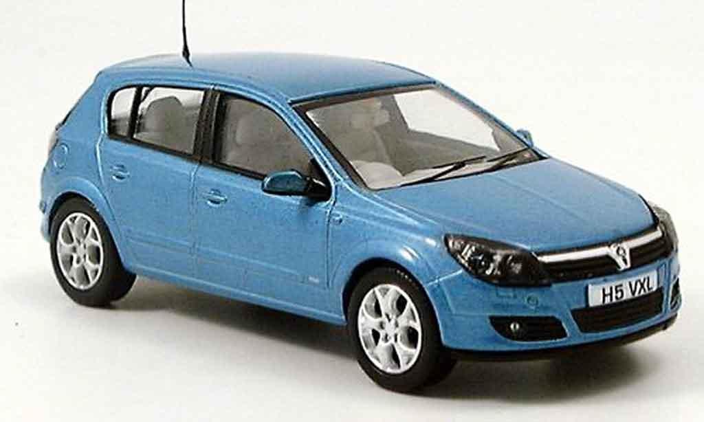 Opel Astra 1/43 Vanguards SXi bleu miniature