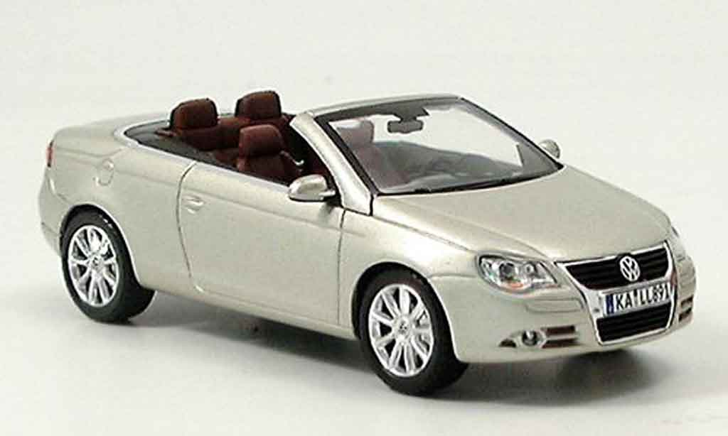 Volkswagen Eos 1/43 Norev metallic beige miniature