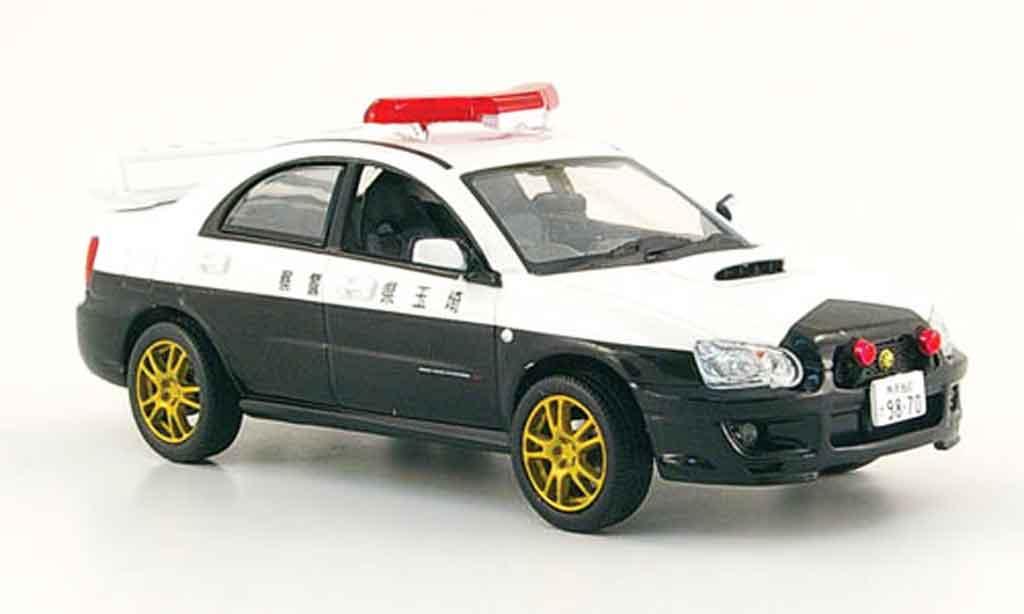 Subaru Impreza WRX 1/43 Norev STI police japan 2003 miniature