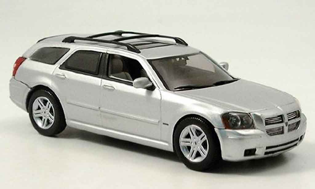 Dodge Magnum 2006 1/43 Norev R T grise metallisee miniature