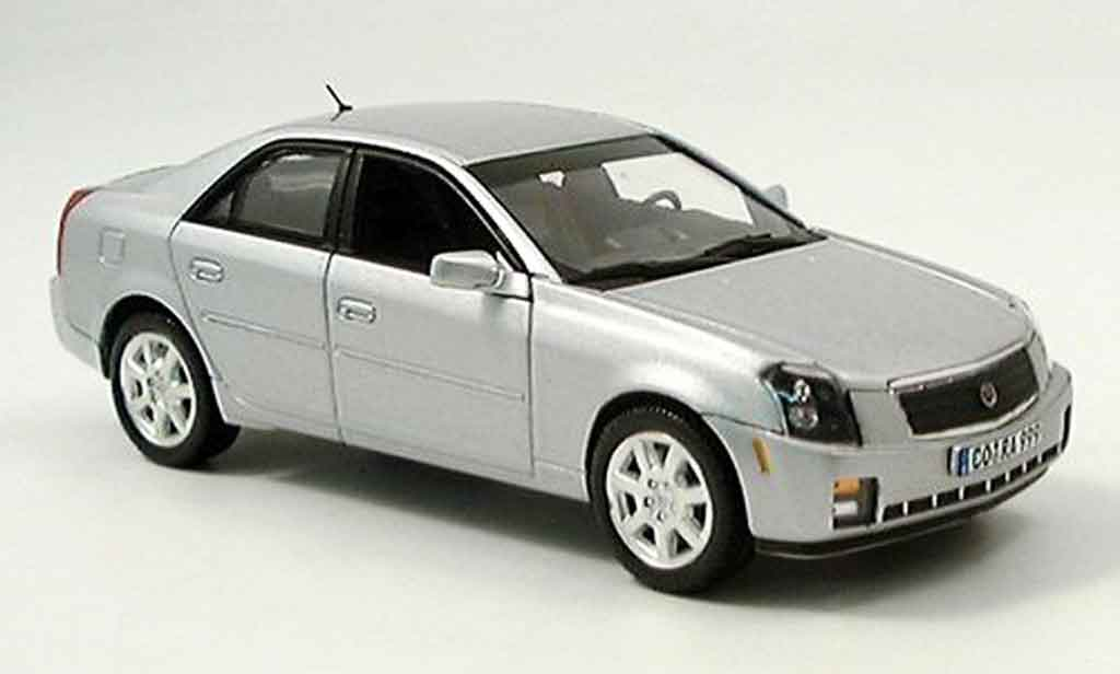 Cadillac CTS 1/43 Norev grise metallisee 20005 miniature