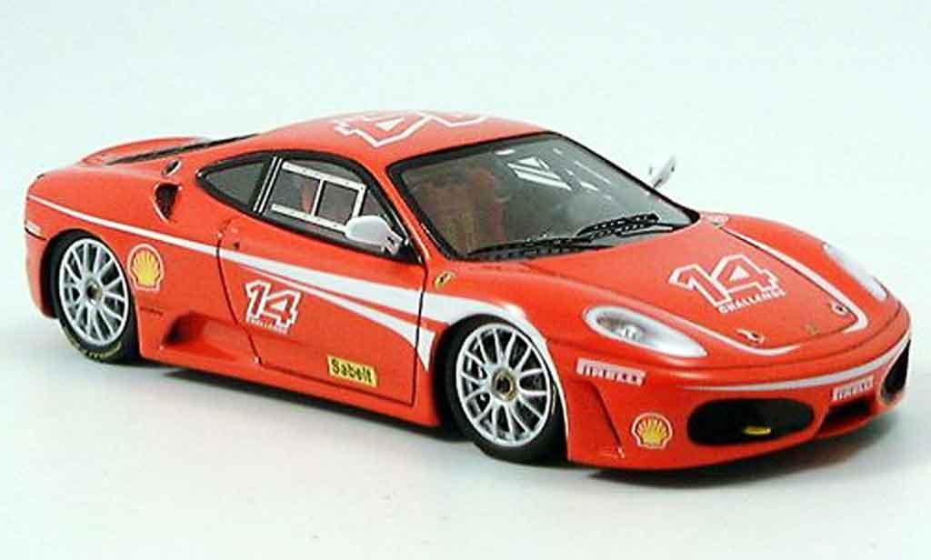 Ferrari F430 Challenge 1/43 Red Line numero 14 modellautos