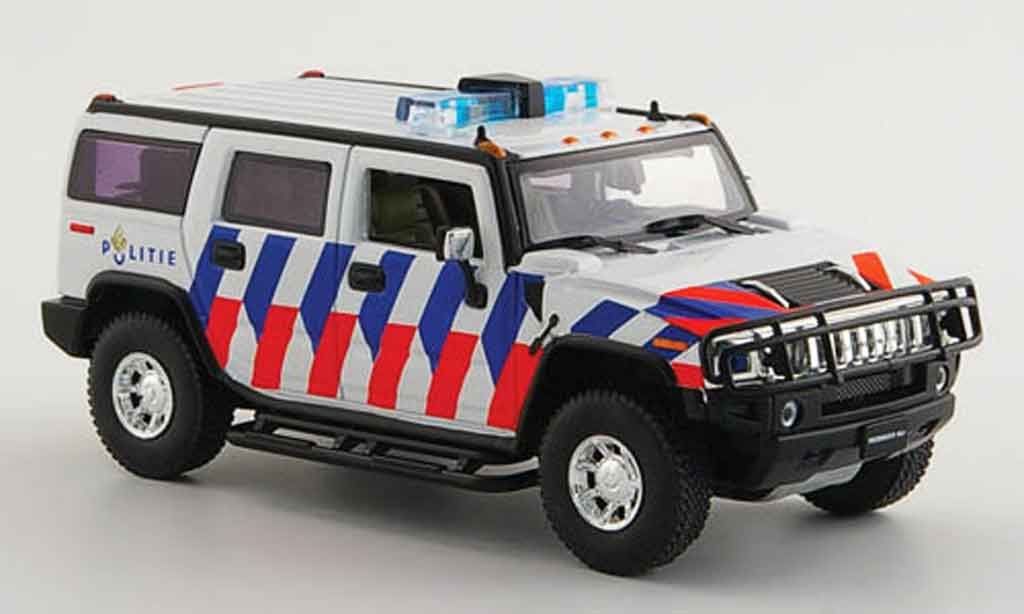 Hummer H2 1/43 Norev police Niederlande miniature