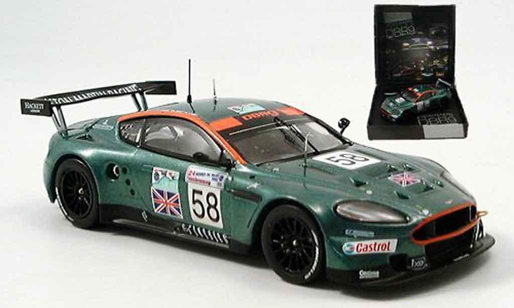 Aston Martin DBR9 1/43 IXO no. 58 enge kox lamy le mans 2005 miniatura