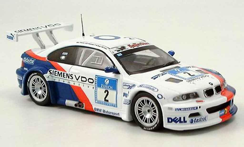 Bmw M3 E46 1/43 IXO GTR No. 2 Lamy Huisman Nurburgring 2005