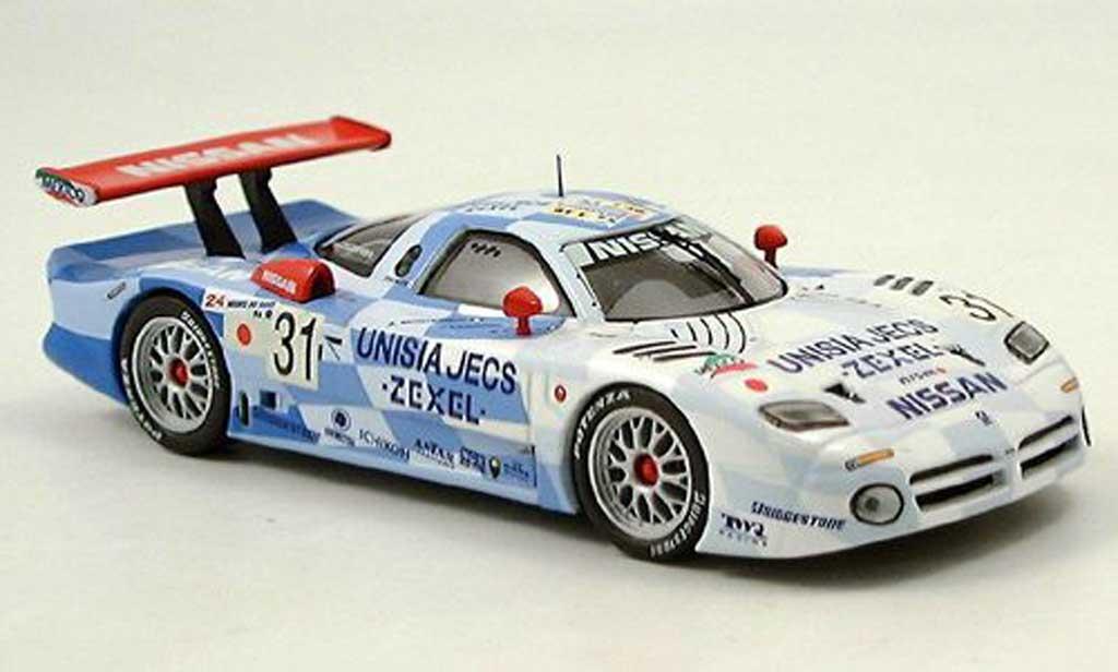 Nissan R390 1/43 IXO GT1 Unisia Jecs Le Mans 1998 miniature