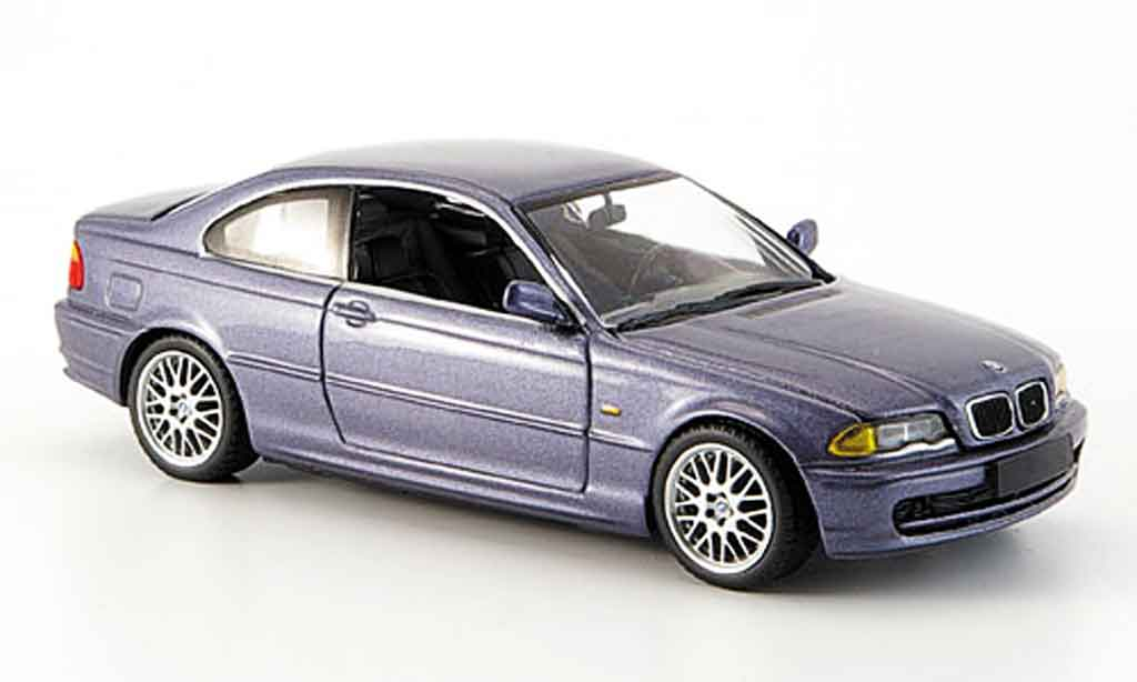 Bmw 328 E46 1/43 Minichamps Ci (E 46) grey 1999 diecast model cars
