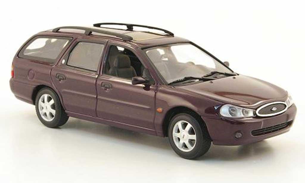 Ford Mondeo 1997 1/43 Minichamps MkII Turnier lila miniature