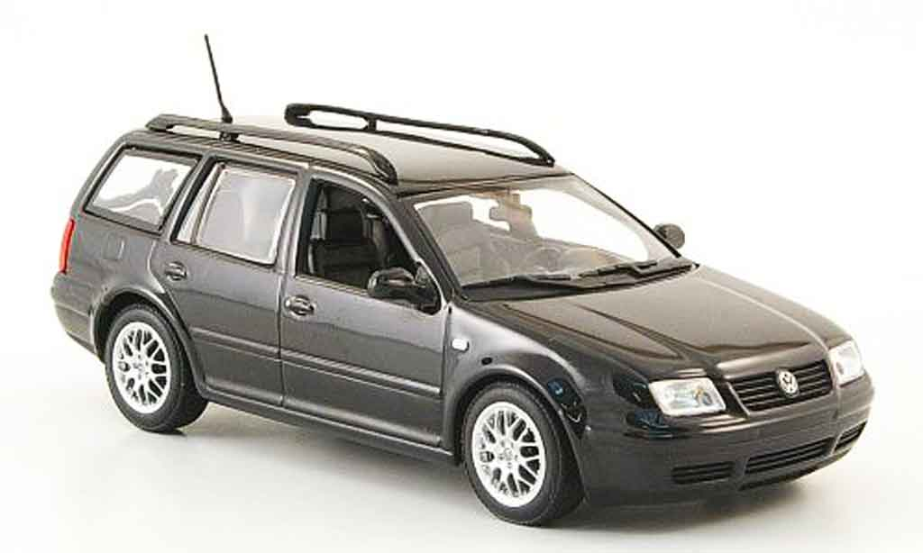 Volkswagen Bora 1/43 Minichamps variant noire 1999 miniature