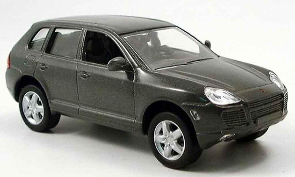 Porsche Cayenne Turbo 1/43 Solido grise 2002 miniature