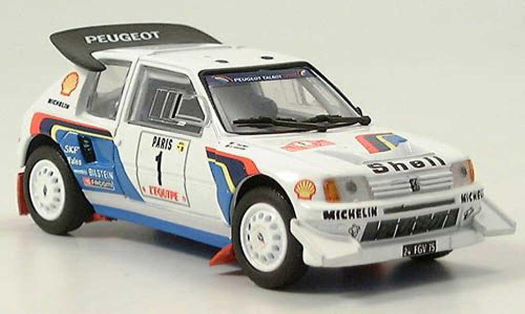 Peugeot 205 Turbo 16 1/43 Solido Rallye 1986 T16 modellautos