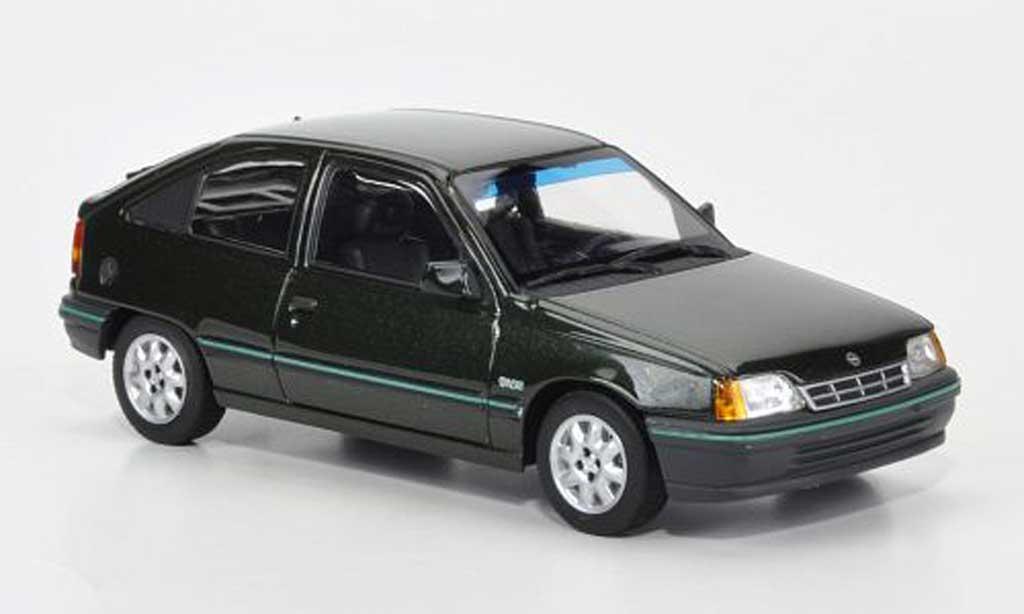 Opel Kadett E 1/43 Minichamps E verte 1989 miniature