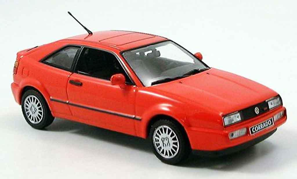 Volkswagen Corrado G60 1/43 Minichamps rouge 1990