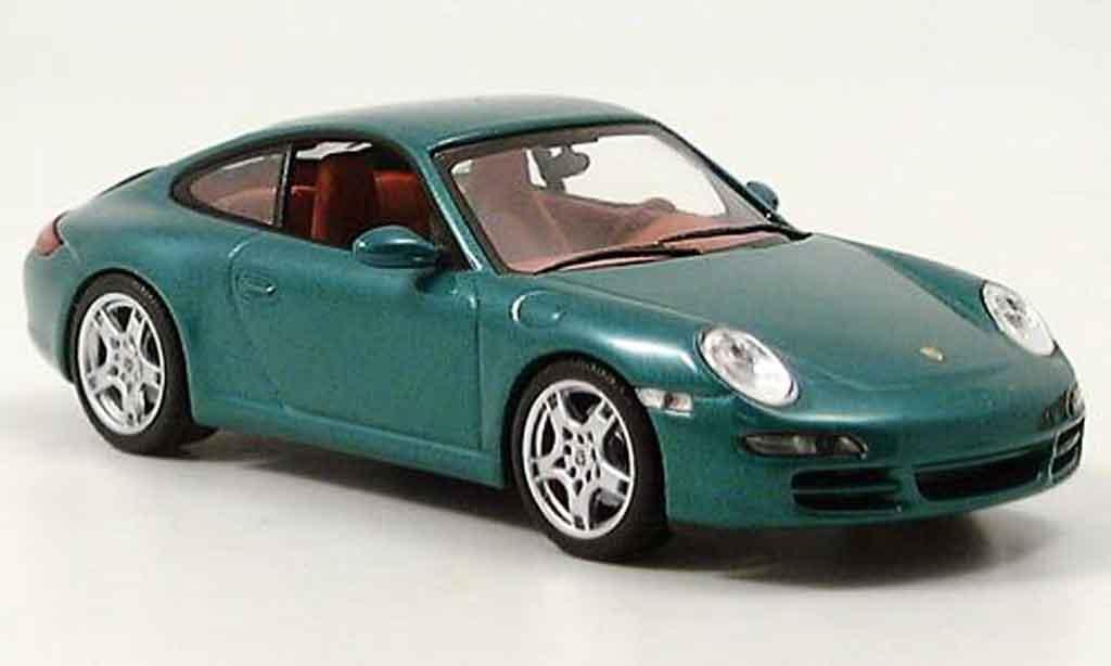 Porsche 996 Carrera 1/43 Minichamps 911 Carrera S  green 2004 diecast