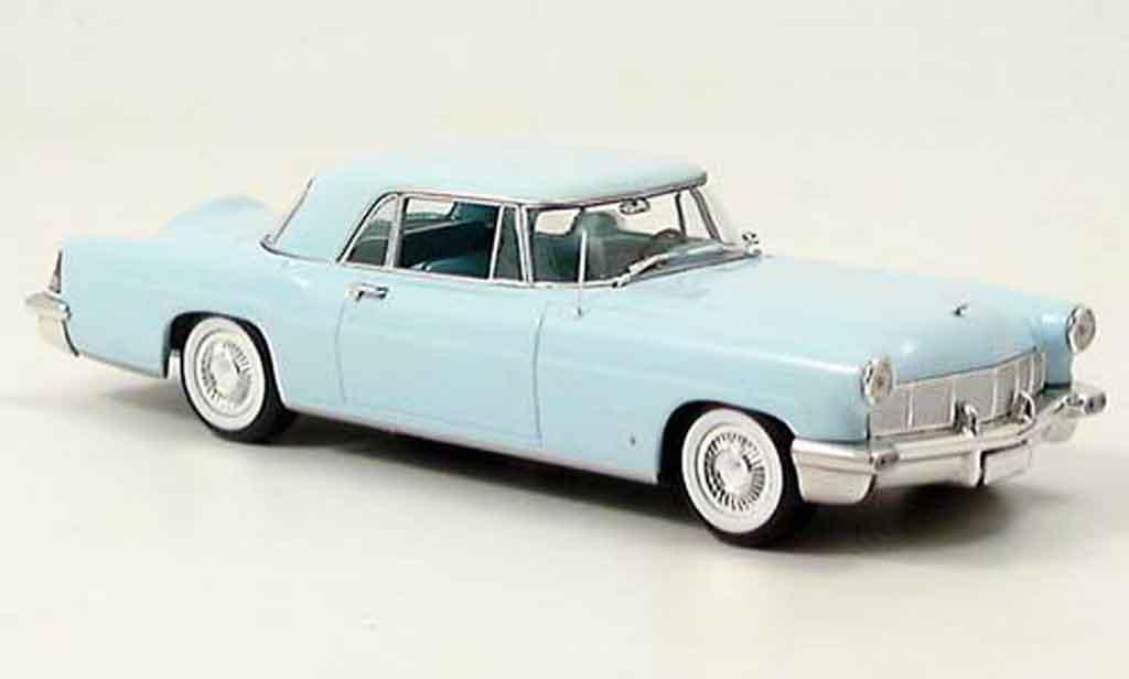 Lincoln Continental 1956 1/43 Minichamps MK II bleu diecast model cars