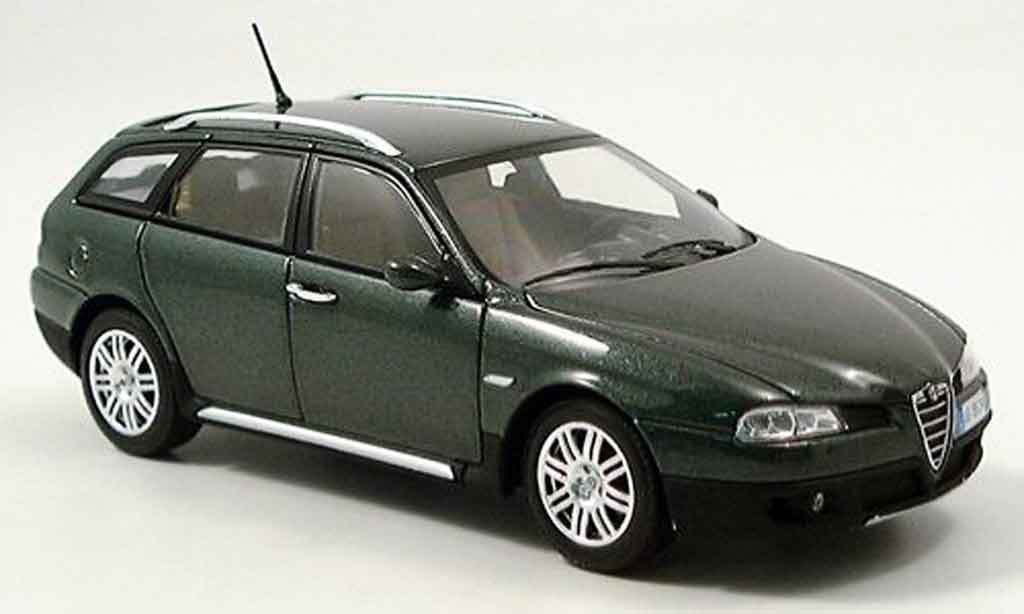Alfa Romeo 156 1/43 Minichamps crosswagon green 2004 diecast