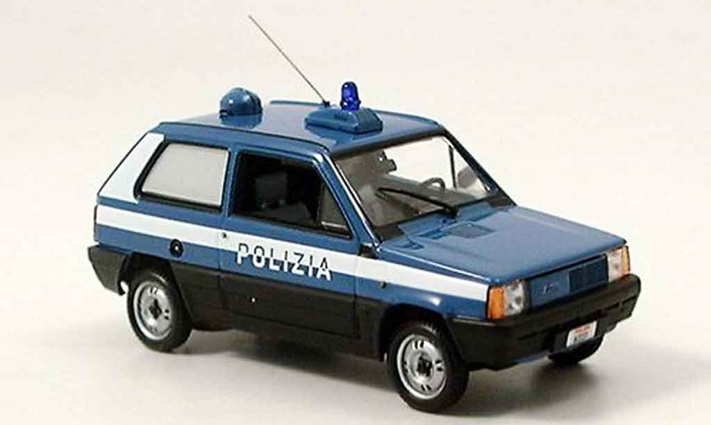 Fiat Panda 1/43 Minichamps italienische police miniature