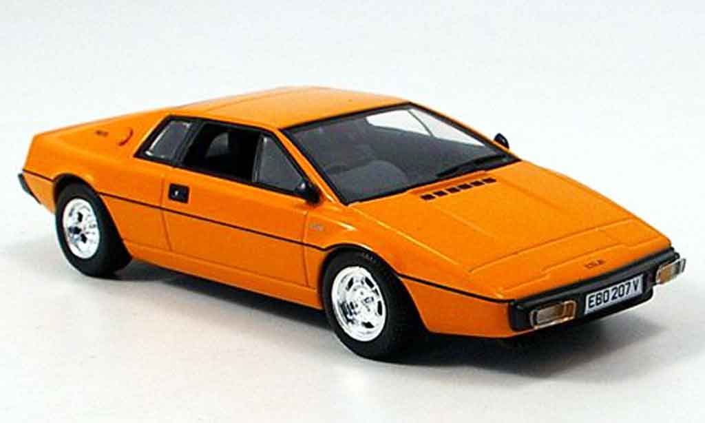 Lotus Esprit 1/43 Minichamps orange 1978 diecast