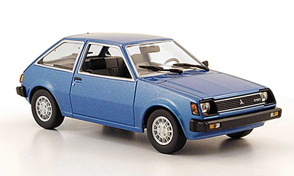 Mitsubishi Colt 1/43 Minichamps bleu 1978 miniature