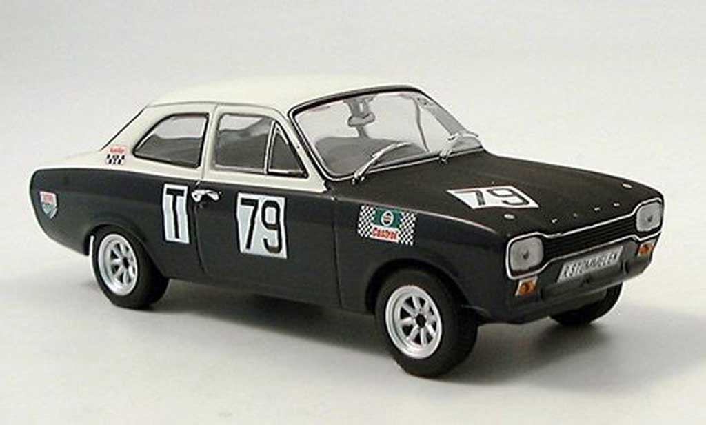 Ford Escort MK1 1/43 Minichamps I Twin Cam Stommelen Nurburgring 1968 miniature